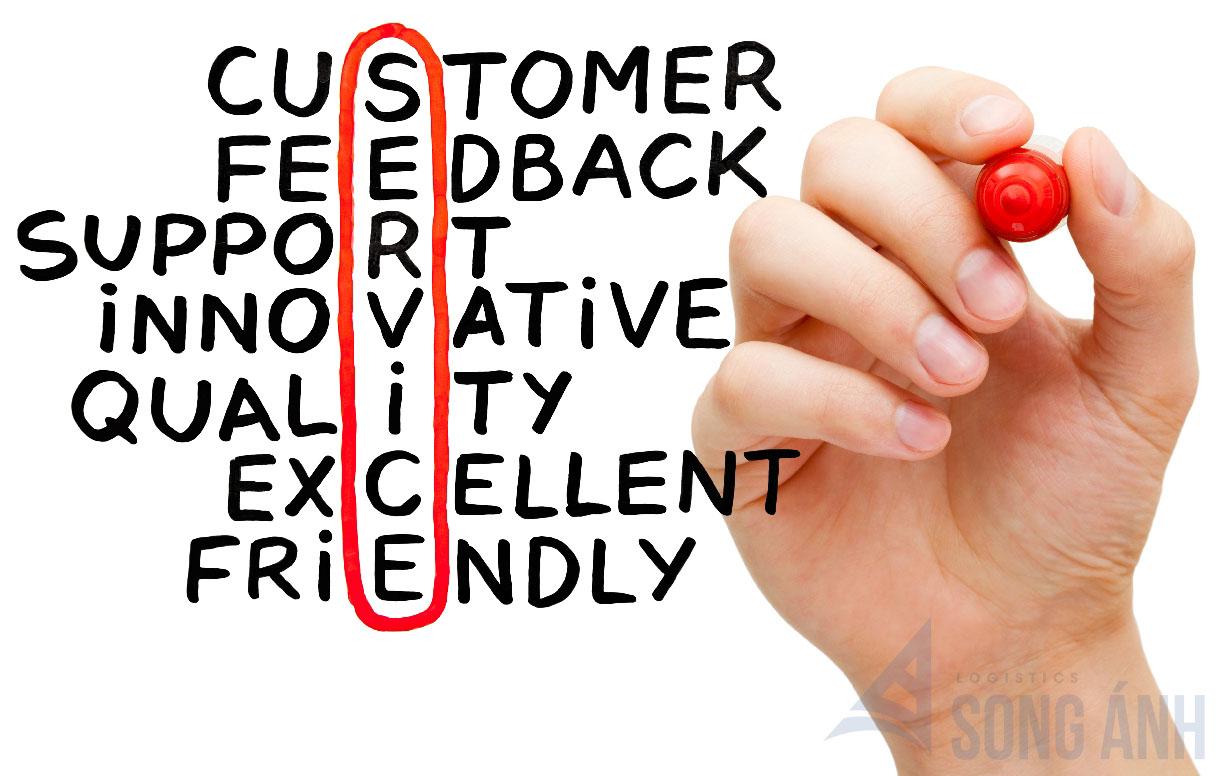 Dịch vụ khách hàng công ty forwarder