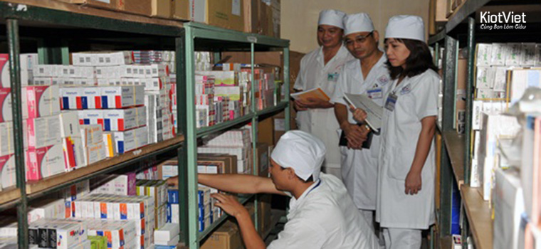 Quy trình quản lý kho thuốc rất nghiêm ngặt và kỹ lưỡng