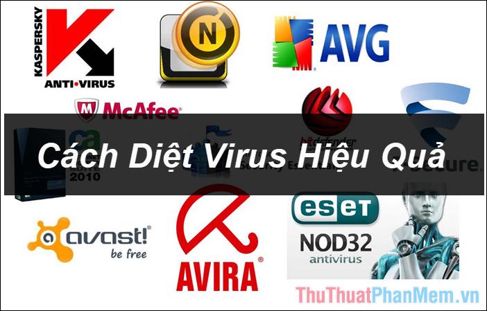 Cách diệt virus trên máy tính