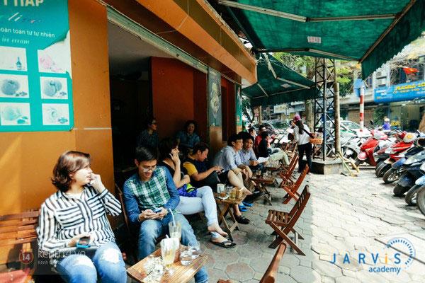 mở quán cafe cóc