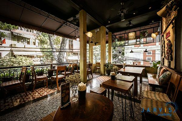 phong cách quán cafe truyền thống