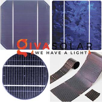 Phân loại pin năng lượng mặt trời