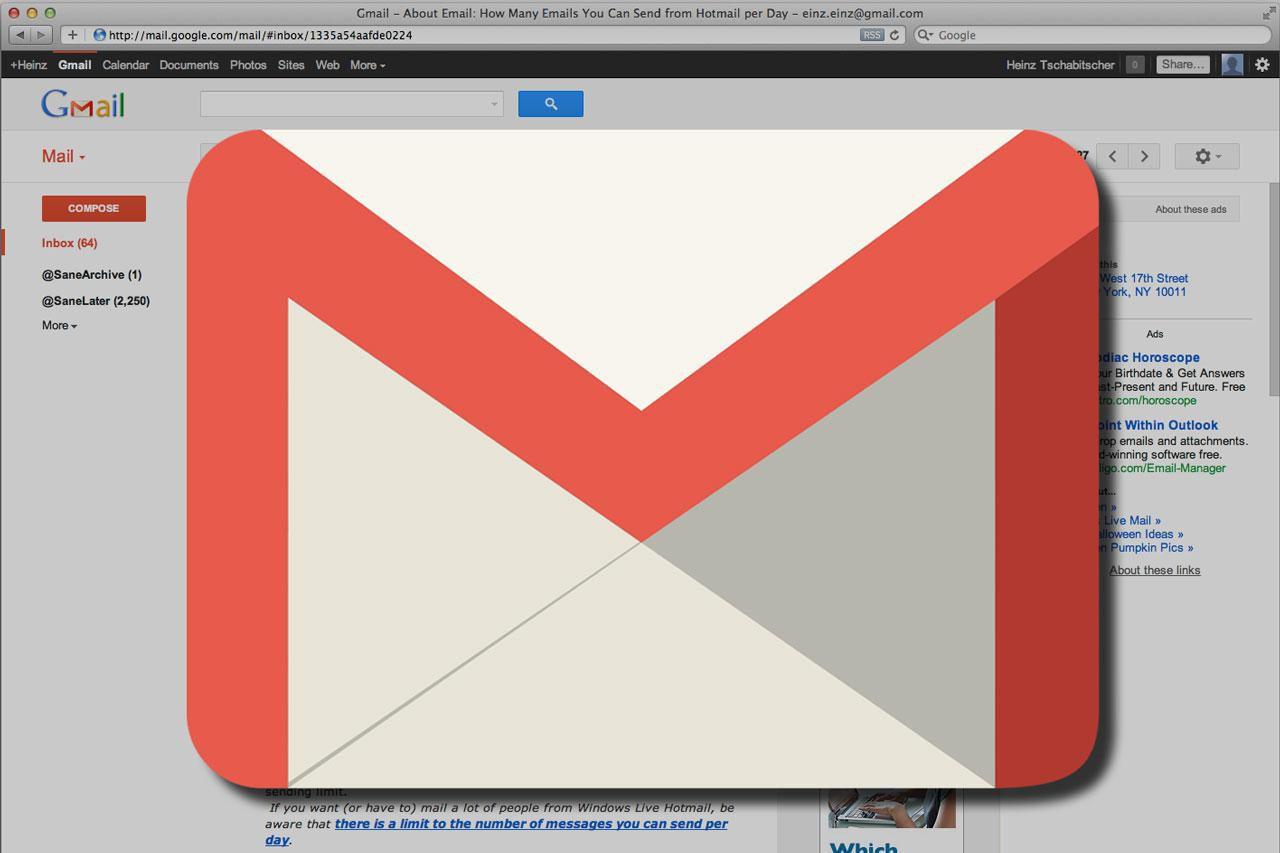 Cách thiết lập tài khoản Gmail vào chung