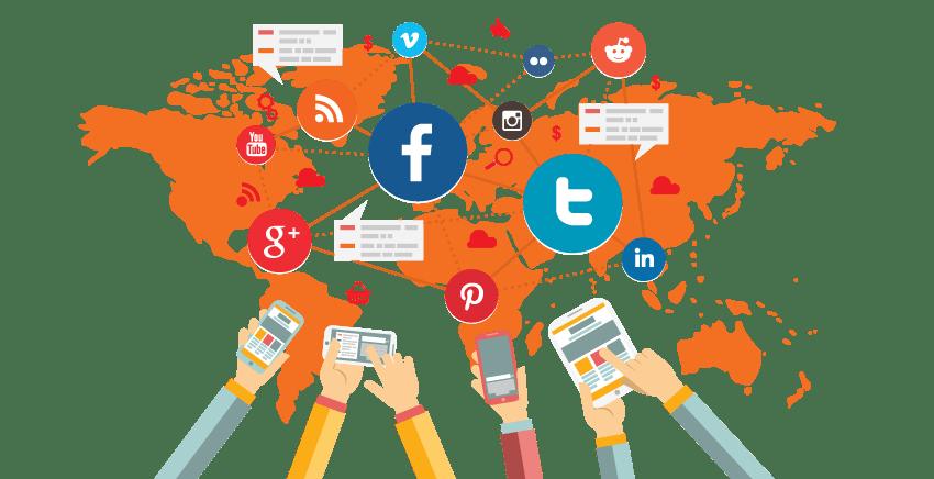 Có rất nhiều kênh Social Media được sử dụng để triển khai các chiến lược Marketing