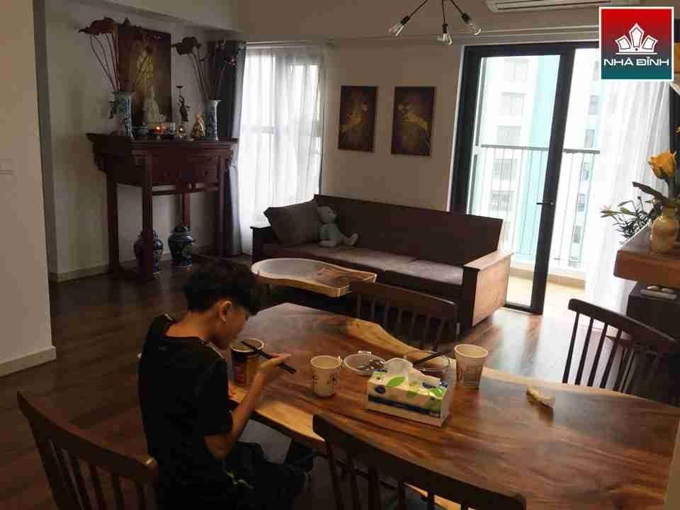 Bàn ăn và bàn sofa gỗ Me Tây