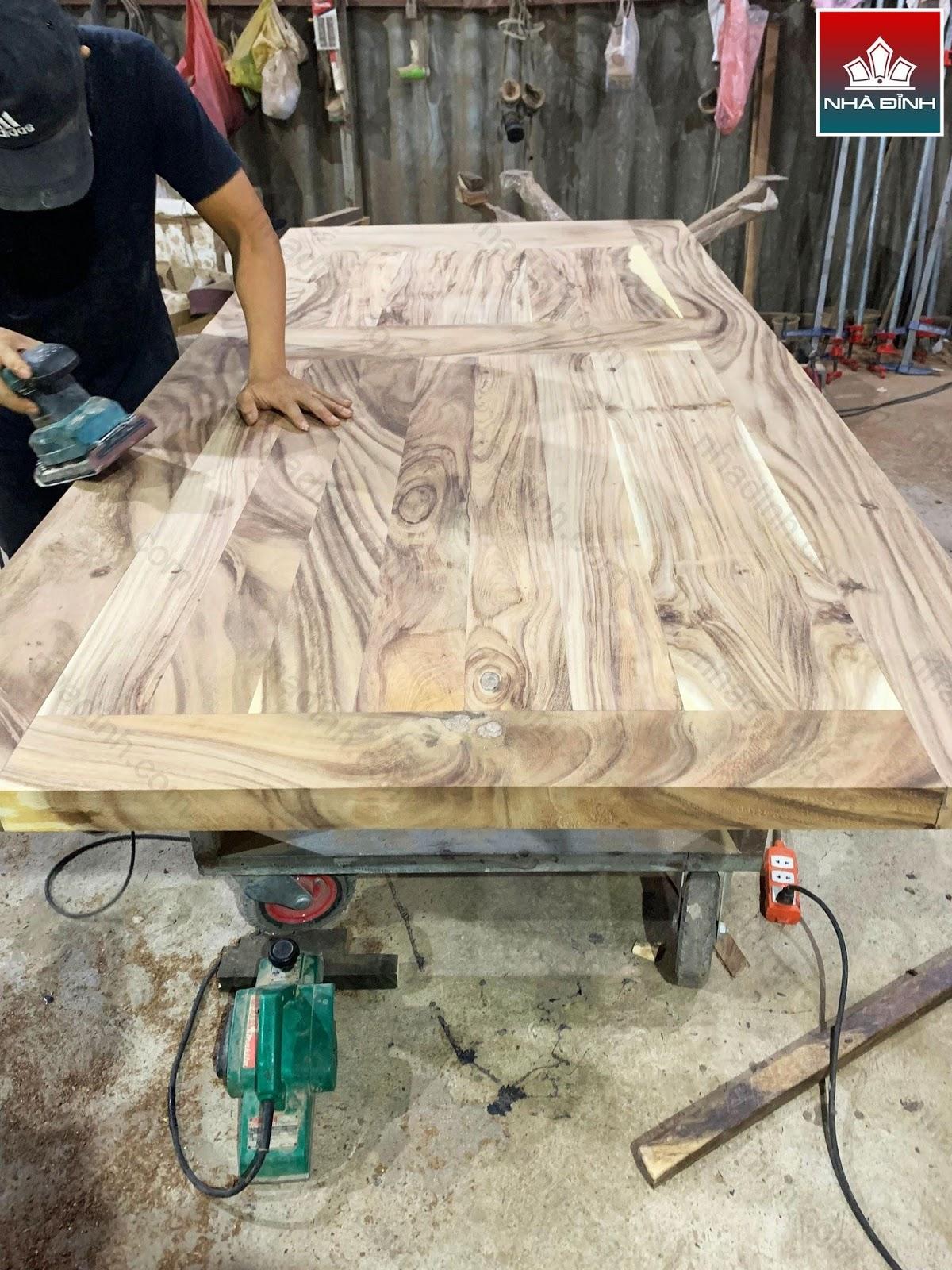 Nhà Đỉnh nhận gia công gỗ số lượng lớn