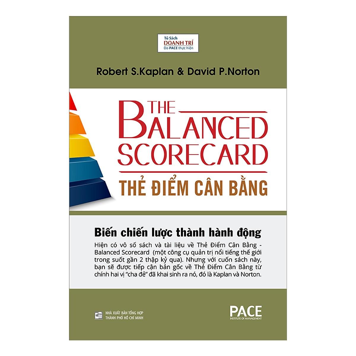 Sách Thẻ Điểm Cân Bằng - The Balanced Scorecard - FAHASA.COM