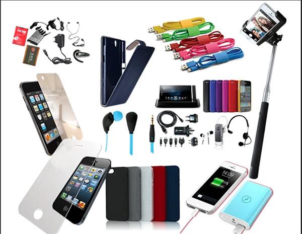 Thị trường phụ kiện điện thoại da dạng sản phẩm